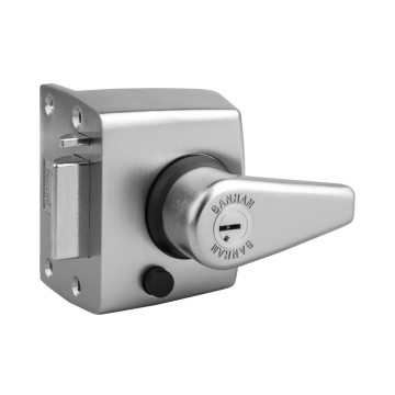 Banham NS3000 Narrow Stile Nightlatch Satin Chrome