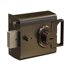 Banham L2000 Nightlatch Dark Bronze