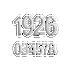 Banham Door Numeral Polished Chrome