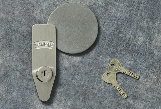 Banham Patented Keys and Lock