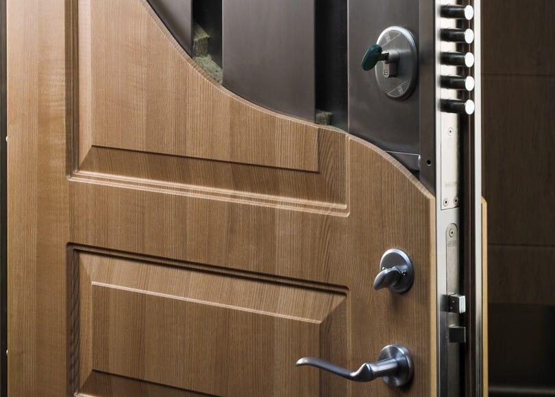 Banham Plus Security Door Close Up