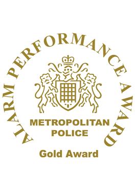 Alarm Performance Award: Metropolitan Police Gold Award